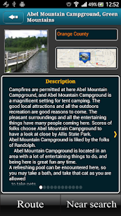 Vermont Campgrounds- screenshot thumbnail
