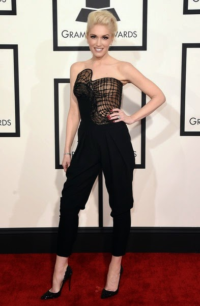 Gwen Stefani attends The 57th Annual GRAMMY Awards