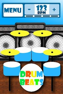 Drumbeats Lite - drums- screenshot thumbnail