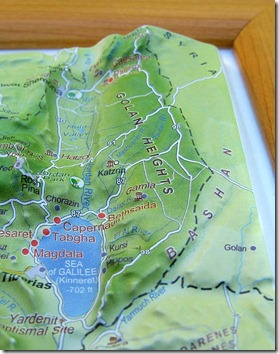 BiblePlaces Blog: New Resource: Israel Topographical Relief Map on