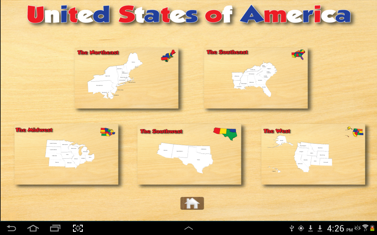 United States Puzzle and Guide- screenshot