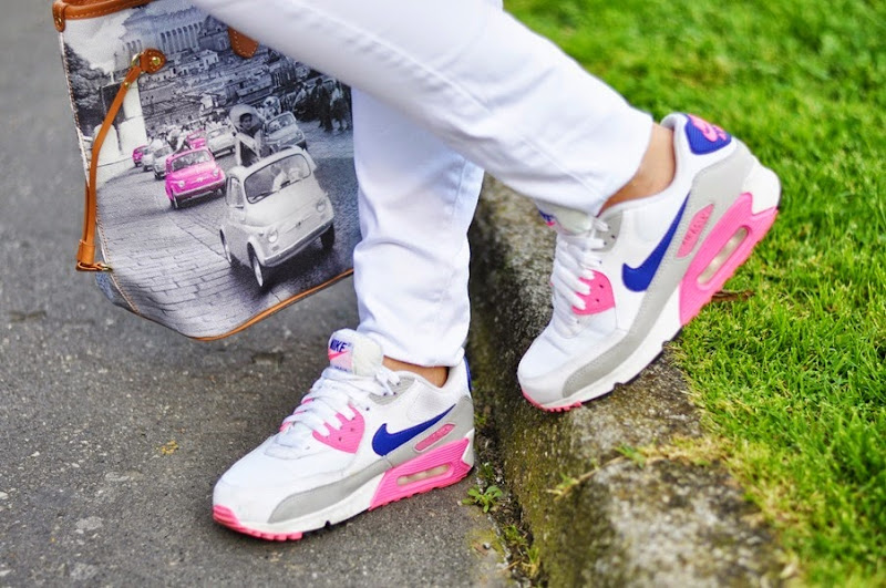 pink-coat-outfit-fashion-blogger-tendenze-2014-nike-air-max
