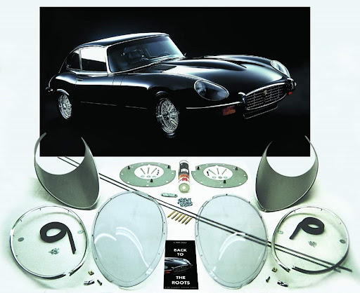 Headlight-Covers - E-Type Culture - English