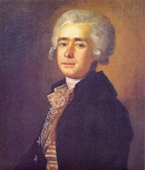Portrait of Dmitry Bortniansky by Mikhail Ivanovich Belskiy [Photo courtesy of the State Tretyakov Gallery, Moscow]