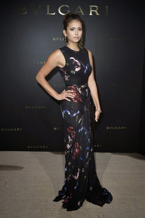 nina-dobrev-at-bulgari-cocktail-in-paris