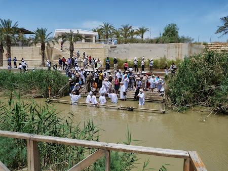 Locul botezului lui Isus Hristos:  Raul Iordan
