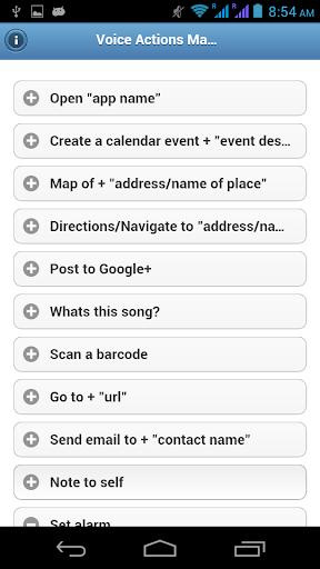 【免費書籍App】Voice Actions Manual-APP點子