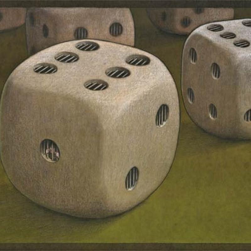 Contraddizioni del genere umano nelle illustrazioni di Pawel Kuczynski.