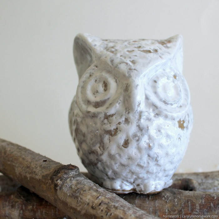 DIY Crackle Paint Owl via homework (10)