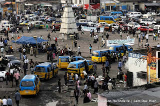 Place Victoire, Kinshasa, 2010.