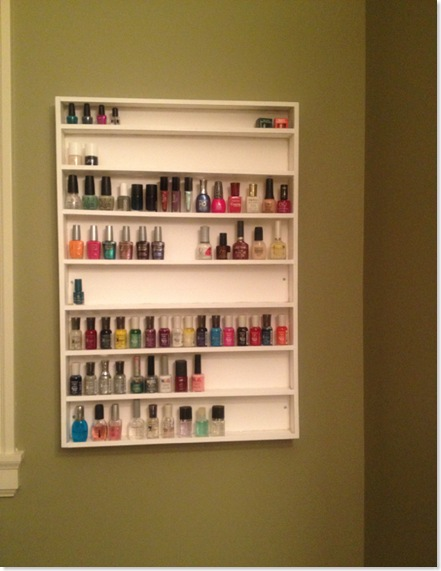 Nail PolishOrganizerRack