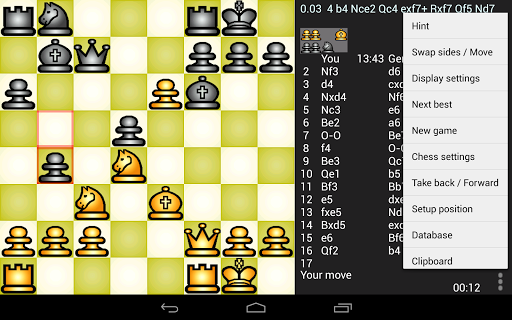 Chess Genius Lite 3.0.4 screenshots 6