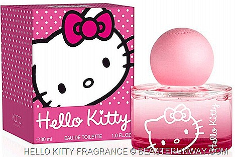 HELLO KITTY PERFUME EDT LIMITED EDITION WOMEN  FRAGRANCE Sweet scent COLORED POP SPRAYS SINGAPORE SEPHORA ION note green apple
