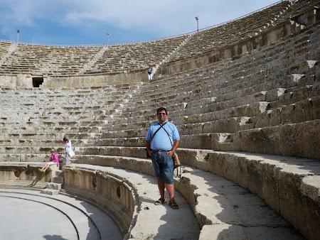 Obiective turistice Jerash: Teatrul de Nord