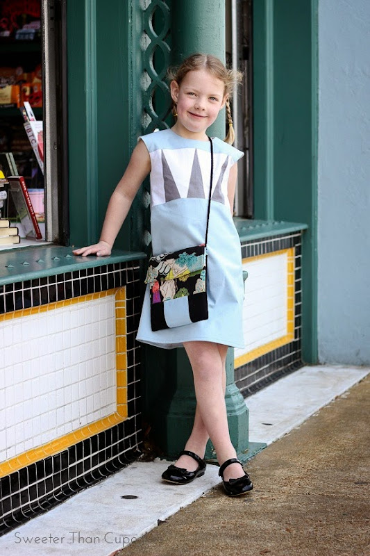 NYC dress Heidi & Finn Colorblock dress