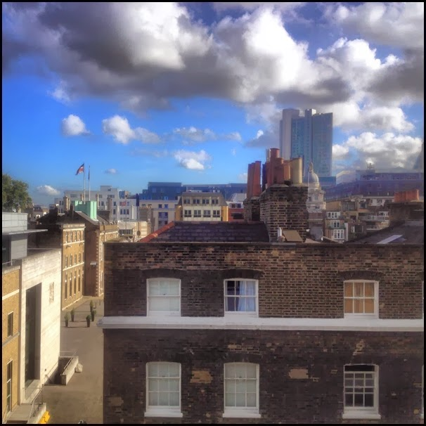 The view from Finsbury Tower