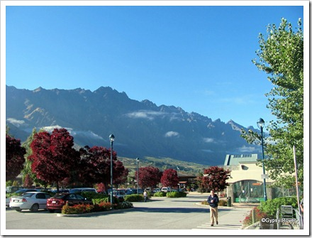 The Remarkables from Frankton.