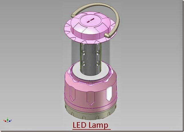 3d Solid Modelling Videos Led Lamp Autodesk Inventor 2012