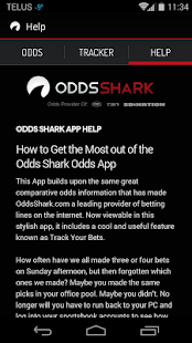 OddsShark - screenshot thumbnail