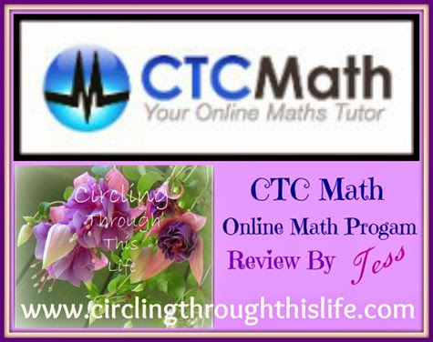 CTC Online Math Program review Circling Through This Life