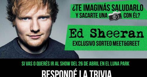 ed sheeran meet and greet 2015