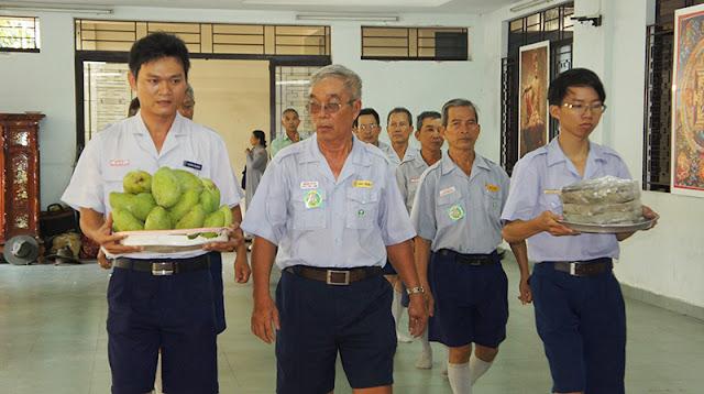 DSC06289 Lễ Hiệp kỵ   Lễ Huý Nhật Cư sĩ Sáng lập viên GĐPT Việt Nam   Tâm Minh Lê Đình Thám