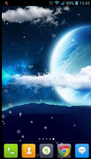Wonderful Sky Live Wallpaper - screenshot thumbnail