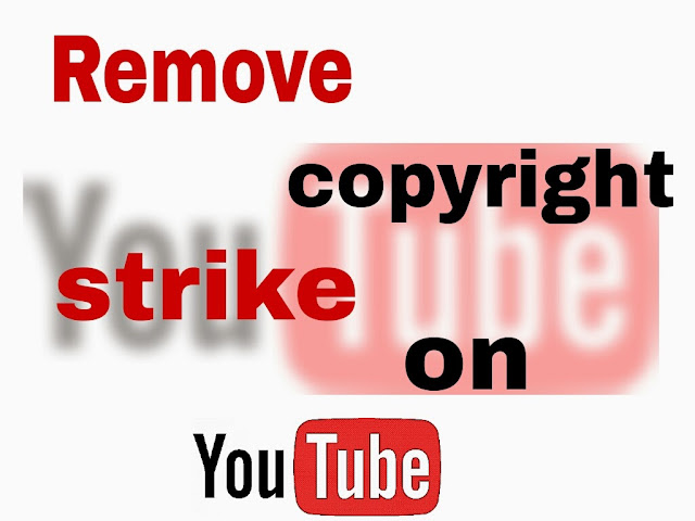 Google phrase: How to remove a copyright strike on YouTube