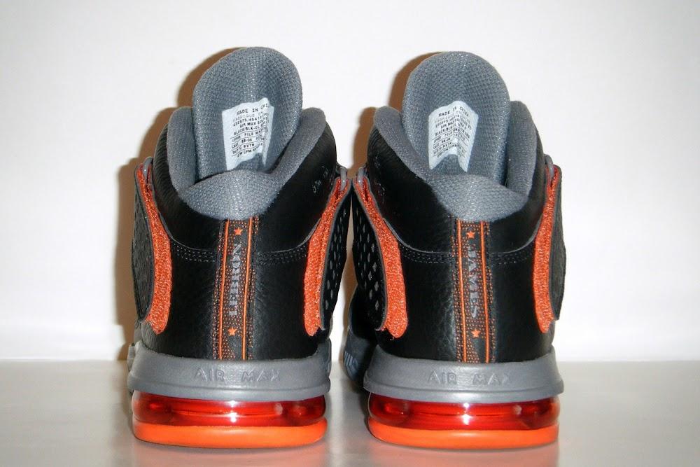 pretty nice cd79e c6c8b ... Nike Soldier V 8211 Black Grey Orange 8211 Unreleased Sample ...