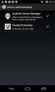McAfee Family Protection - screenshot thumbnail