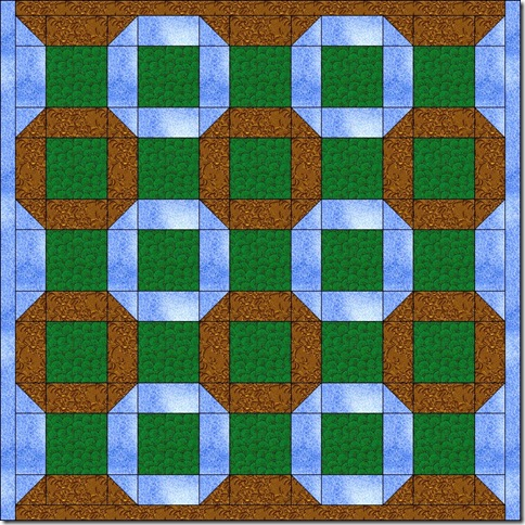 HD lattice quilt idea