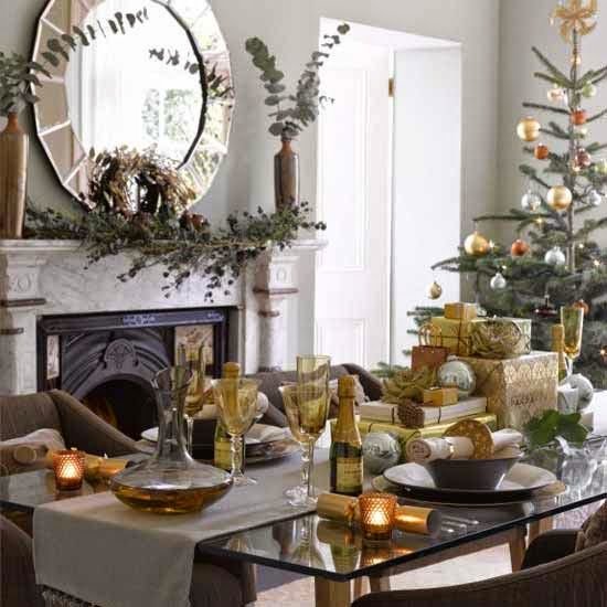 Pinterest Home Decor 2014: Kerstontbijt Of Kerstbrunch: Tafeldekken En Decoraties