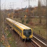 U5 Richtung Hönow - zwischen Tierpark und Biesdorf