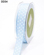 6041-blue-white dot ribbon