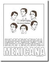 Colorear Personajes De La Independencia Mexicana
