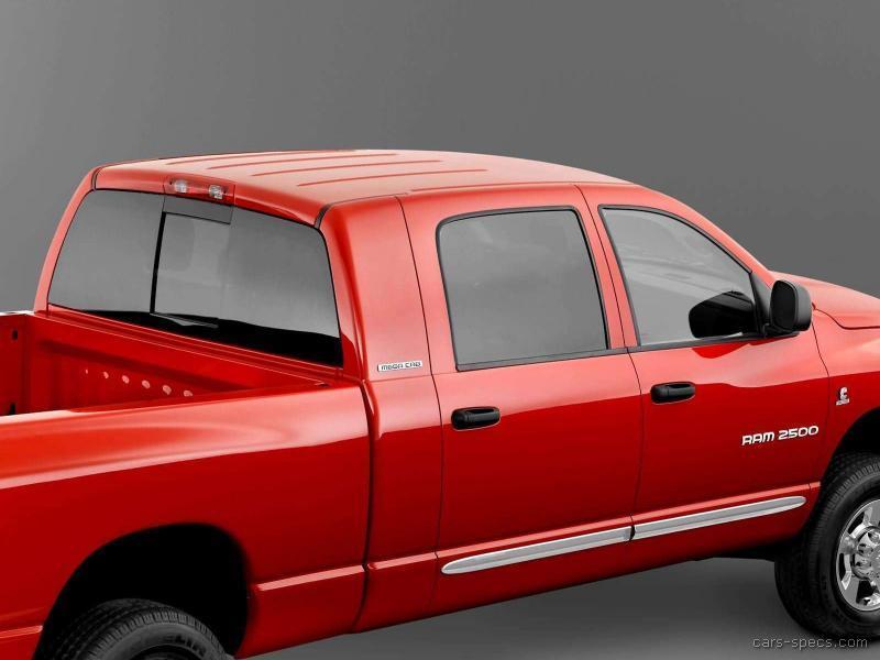 2006 dodge ram pickup 1500 mega cab specifications pictures prices. Black Bedroom Furniture Sets. Home Design Ideas