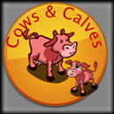 Farmville Cows and Calves