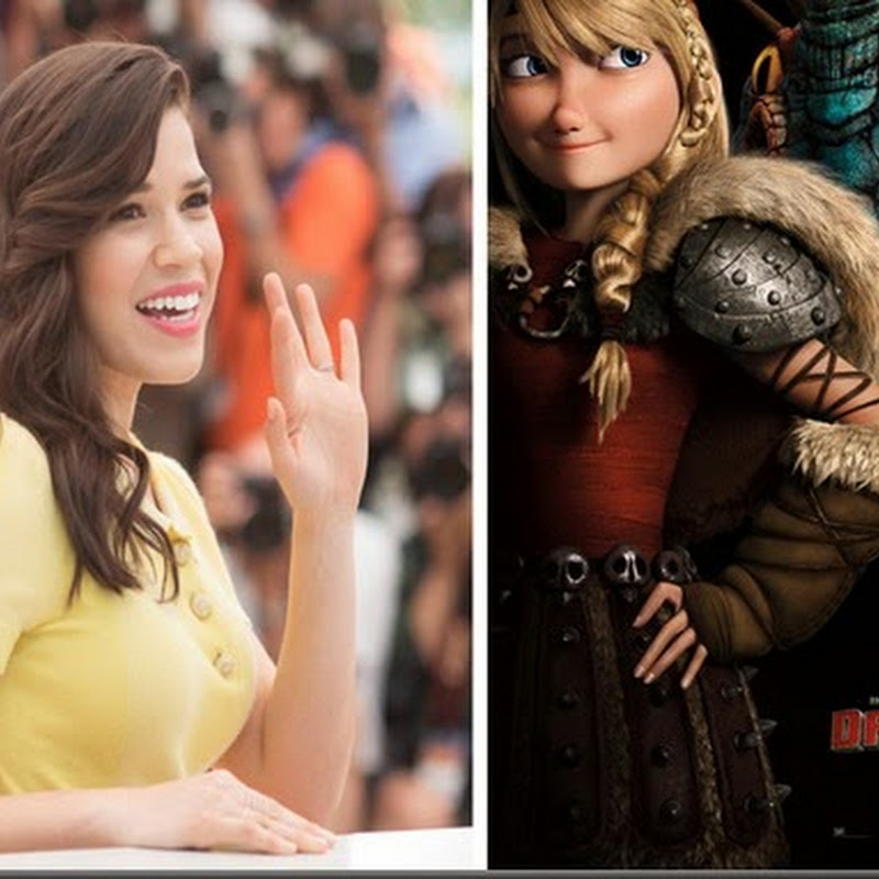 "America Ferrera's Astrid: All Grown Up in ""How To Train Your Dragon 2"""