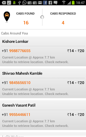 Taxi Cab Near Me Pune | Explore the app developers