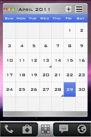 AppleJuice LauncherPro Theme- screenshot