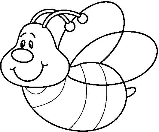 Dibujos Para Colorear De Abejas Animales Marinos Dibujos Para ...