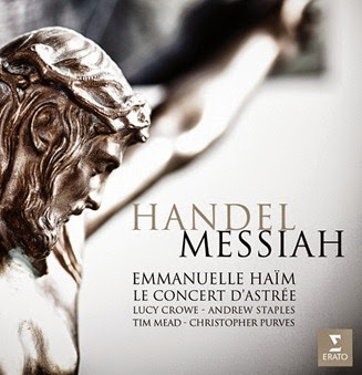 CD REVIEW: Georg Friedrich Händel - MESSIAH (ERATO 0825646240555)