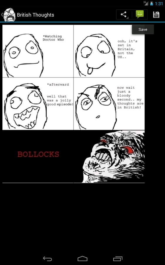Rage Comics Reader - screenshot