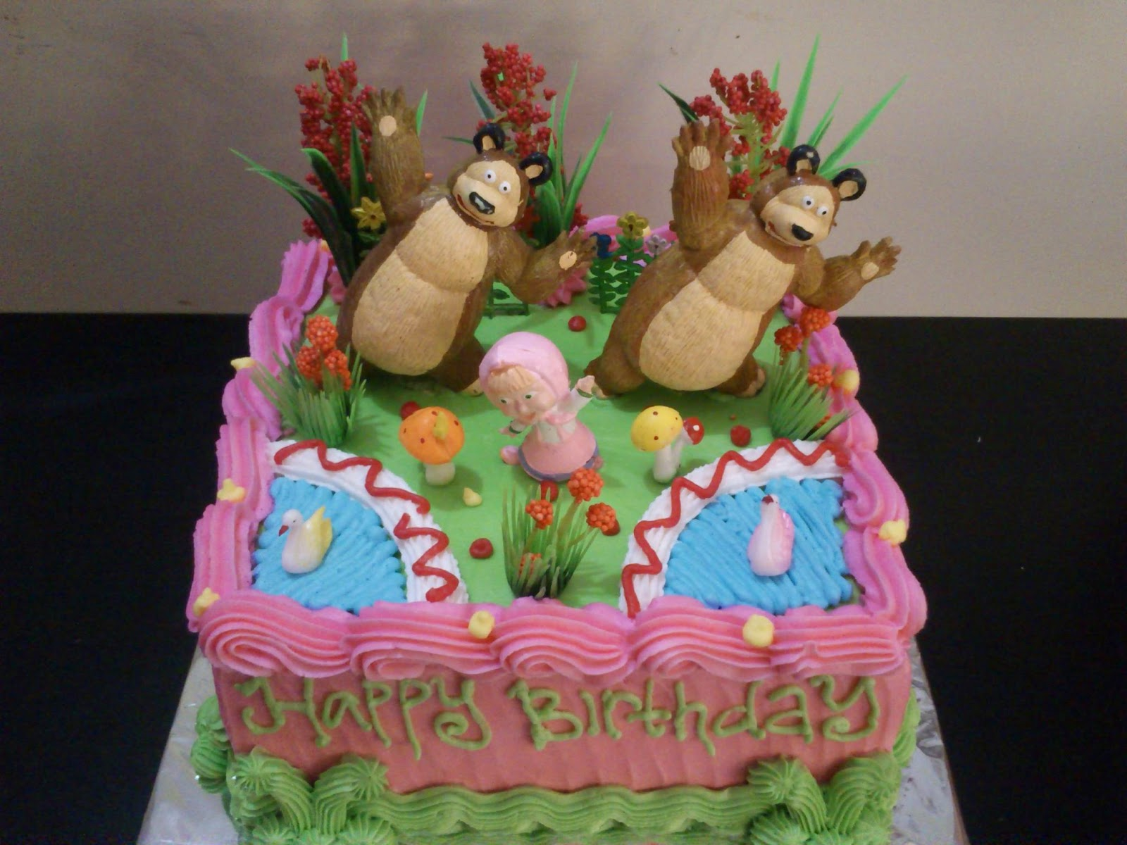 Toko Kue Bolu Enak Tart Marsha And The Bear