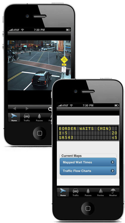 Seattle Traffic PRO Washington - screenshot