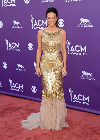 Jana Kramer 48th Annual Academy Country Music Awards Arrivals