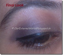 final - brown smokey eyes with winged liner
