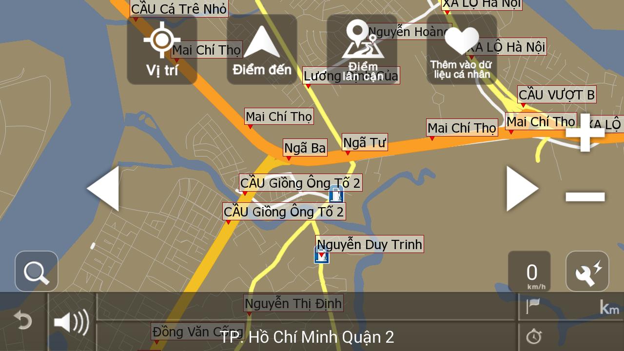 VIETMAP X10 02.2015 - screenshot