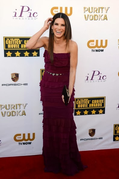Sandra Bullock attends the 19th Annual Critics' Choice Movie Awards