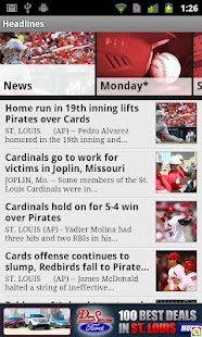 BaseballSTL - screenshot thumbnail